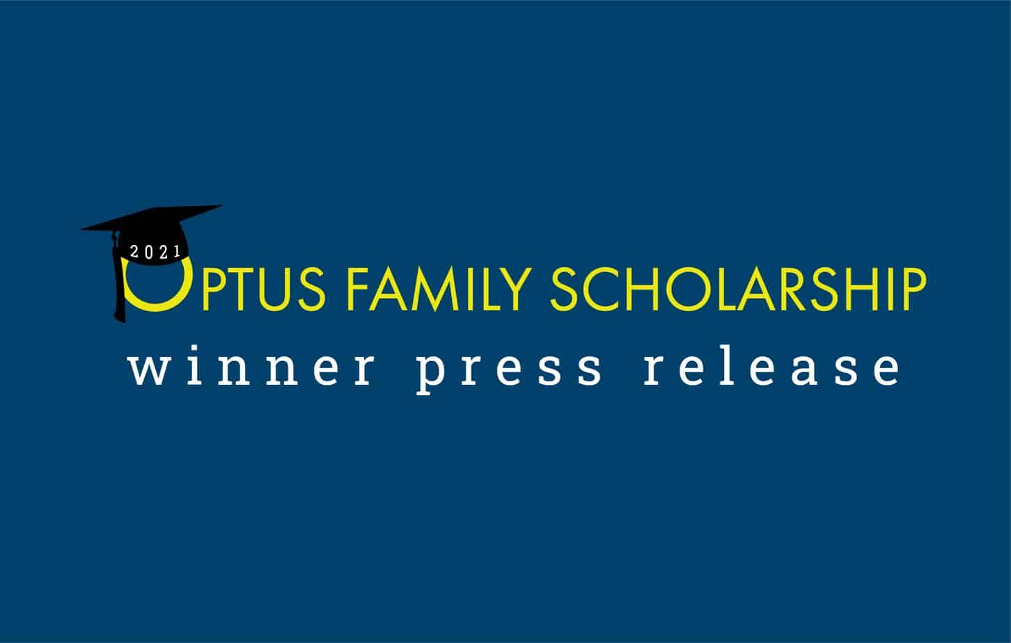 2021 Optus Family Scholarship Winner | Press Release