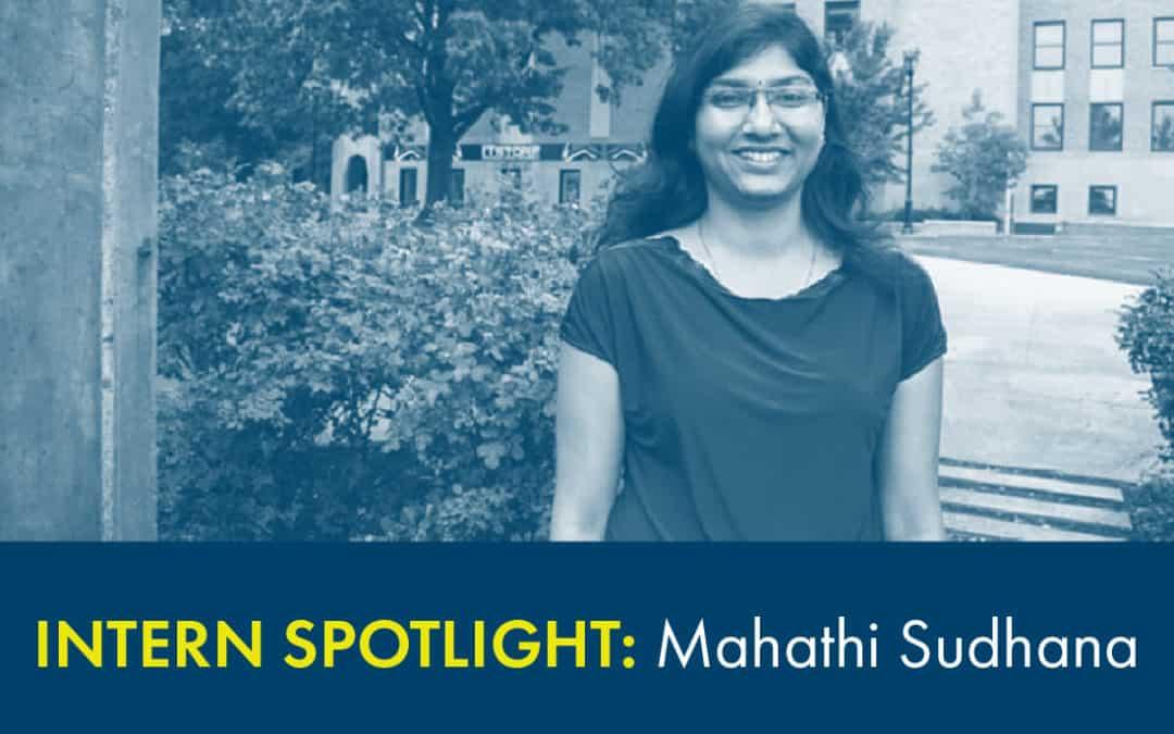 Optus Intern Spotlight: Mahathi Sudhana